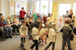 Ostern in Bad Berka: Der Kindergarten Adelsberg kam zu Besuch